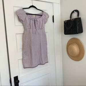 Gingham Picnic Dress
